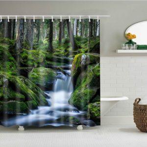 duschdraperi vattenfall