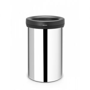 Brabantia Open Top Bin 60 L Brilliant Steel