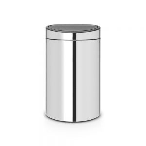 Brabantia Touch Bin 40L Brilliant Steel