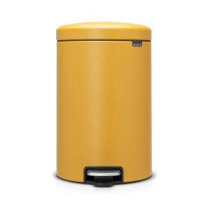 Brabantia newIcon 20 L Mineral Mustard Yellow