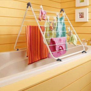 torkställning för badkar