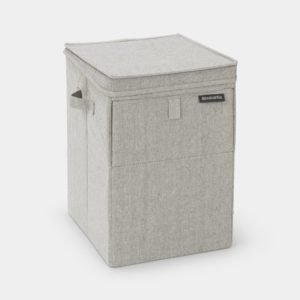 Brabantia Tvättkorg Stapelbar 35L Grey