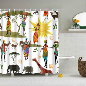 Duschdraperi Afrika