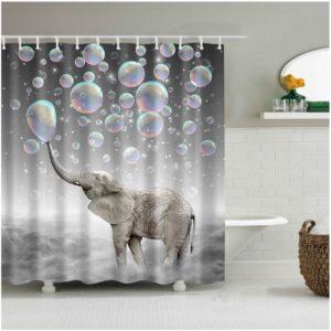 Duschdraperi Såpbubblor